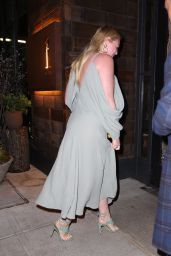 Iskra Lawrence Night Out Style - New York City 04/15/2019