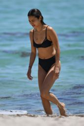 Jamie Chung in Bikini at the Beach in Miami 04/27/2019