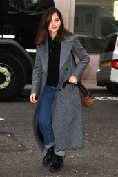 Jenna-Louise Coleman - Leaving BBC Radio 2 in London 04/02/2019