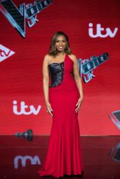 Jennifer Hudson - The Voice UK TV Show Final Photocall in London 04/04/2019
