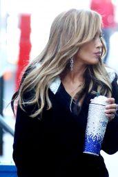 """Jennifer Lopez - """"Hustlers"""" Set in NYC 04/24/2019"""