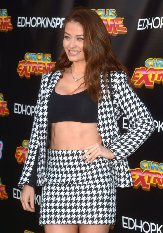 Jess Impiazzi - The Circus Extreme Press Night in London 04/17/2019