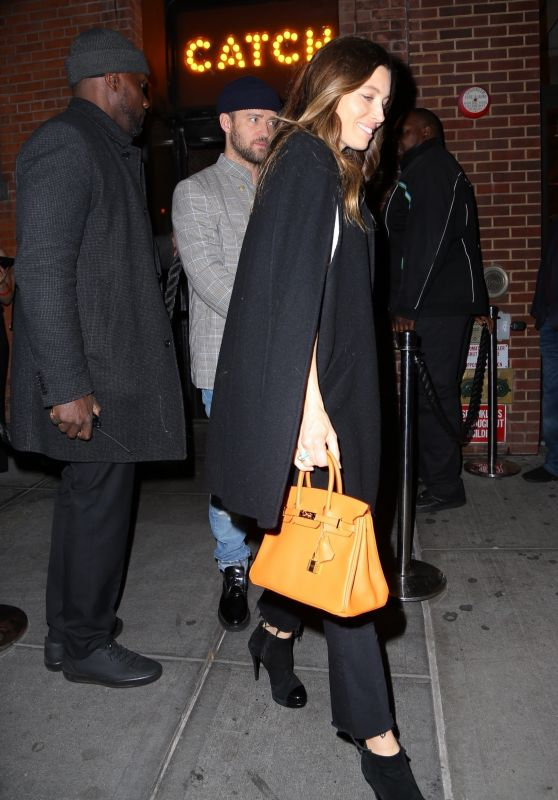 Jessica Biel and Justin Timberlake - Catch NYC 04/10/2019