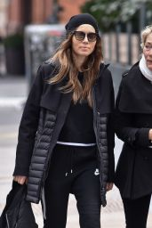 Jessica Biel Street Style - Out With Her Mom Kimberly Biel in New York City 04/12/2019