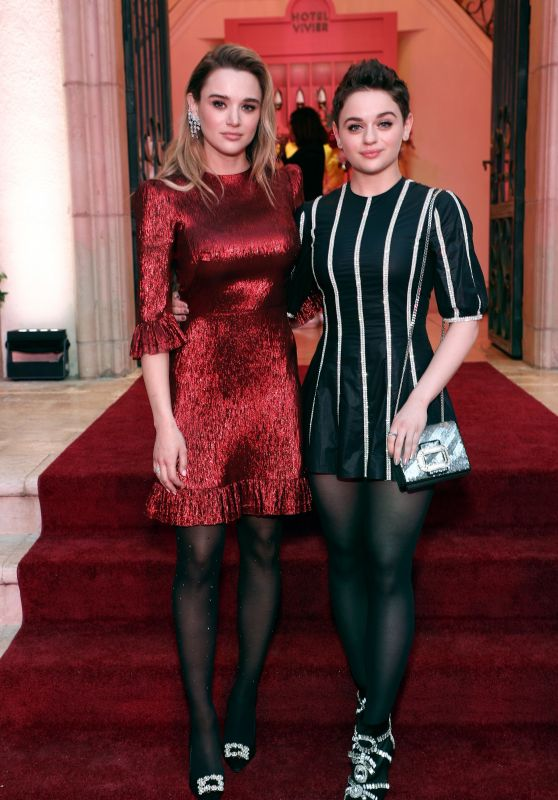 Joey King and Hunter King - Hotel Vivier Los Angeles Cocktail Party