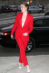 Julia Stiles - Outside 9th Annual Most Powerful People in Media in NYC