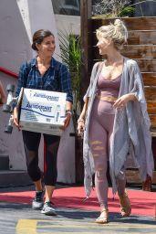 Julianne Hough - Leaving a Dance Studio in LA 04/19/2019