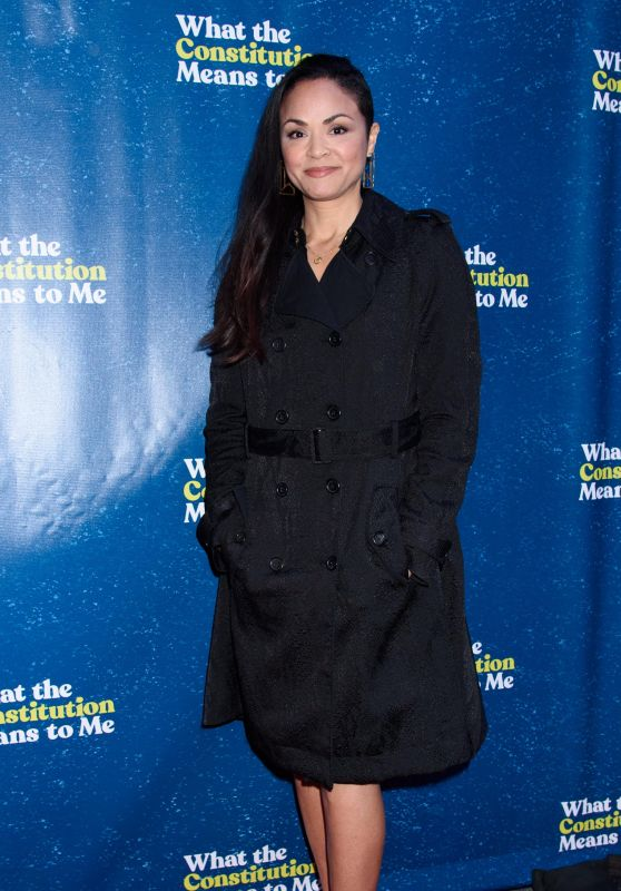"""Karen Olivo – """"What The Constitution Means To Me"""" Opening Night in NY"""