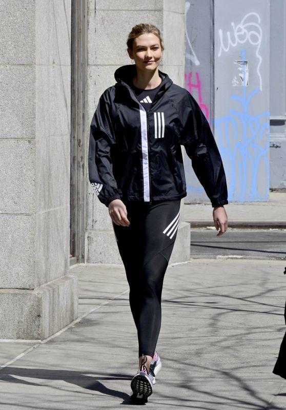 Karlie Kloss - Adidas Photoshoot 04/03/2019