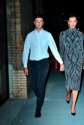 Karlie Kloss and Husband Josh Kushner Leave the Project Runway Party in New York 04/18/2019