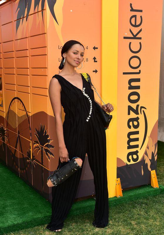 Kat Graham - Amazon Lockers at Coachella in Indio 04/19/2019
