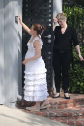 Kate Mara - Celebrates Her Baby Shower in Los Angeles 04/29/2019