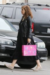 Kate Mara - Going to a Birthday Party in Los Angeles 04/28/2019