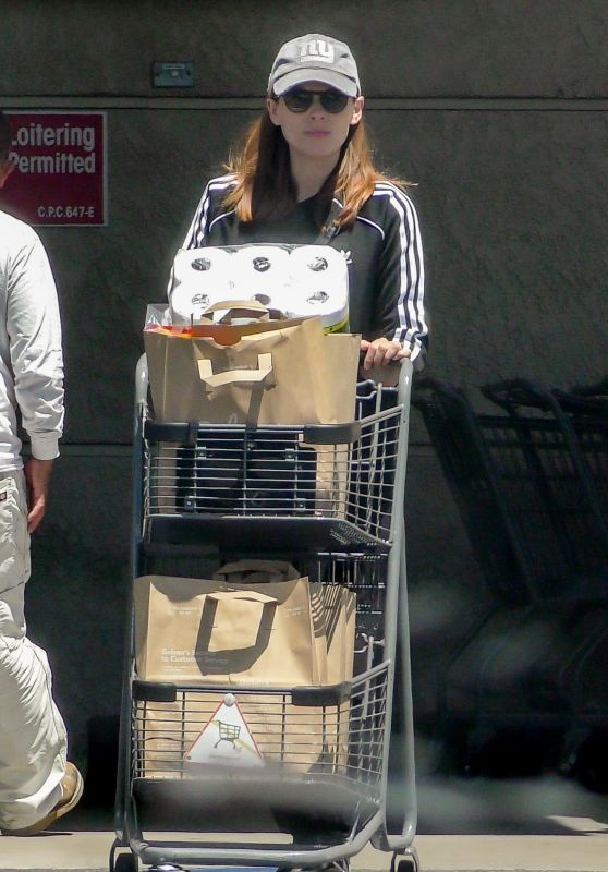 Kate Mara - Grocery Shopping in Los Feliz 04/23/2019