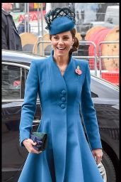 Kate Middleton - ANZAC Day Service of Commemoration and Thanksgiving at Westminster Abbey in London 04/25/2019