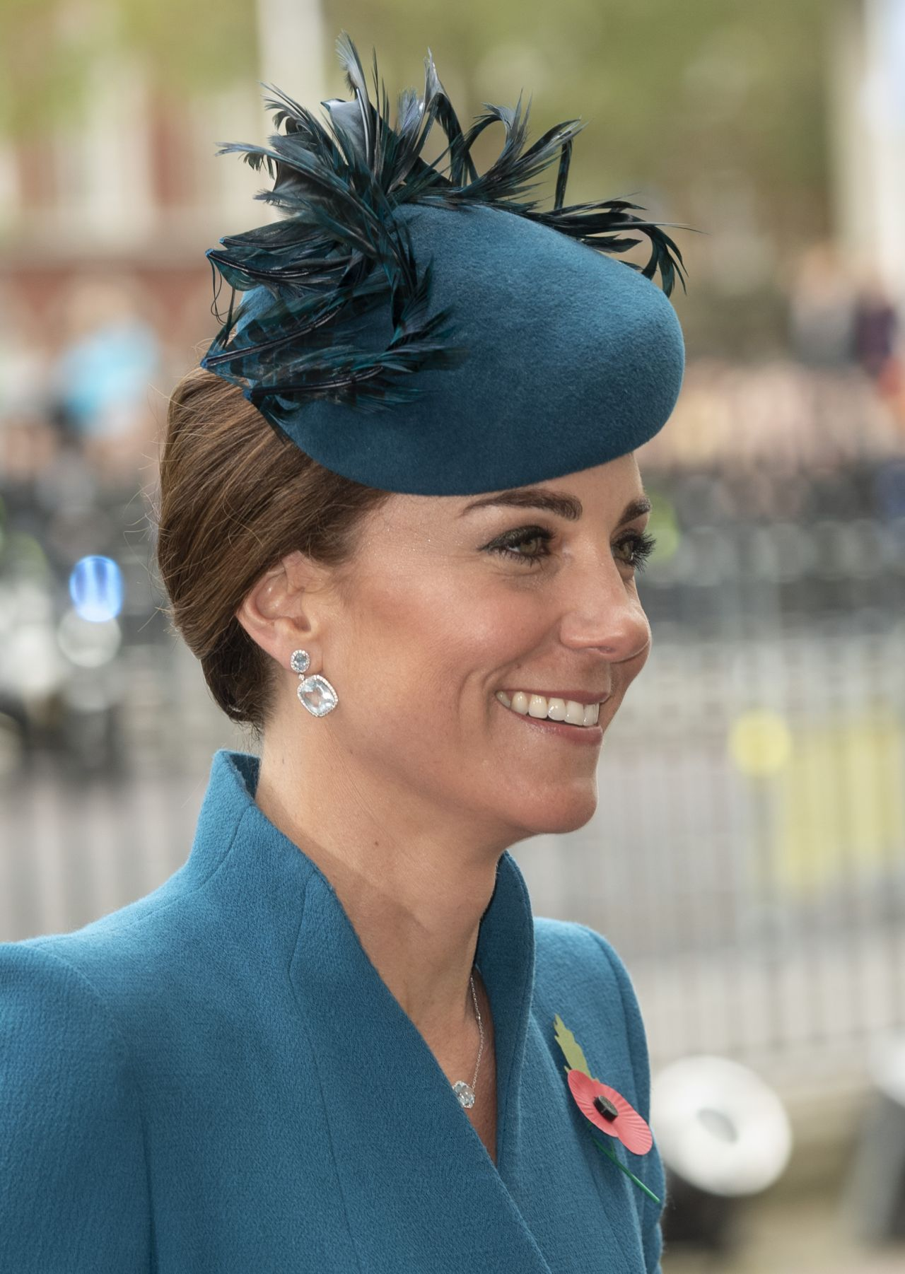Kate Middleton ANZAC Day Service Of Commemoration And