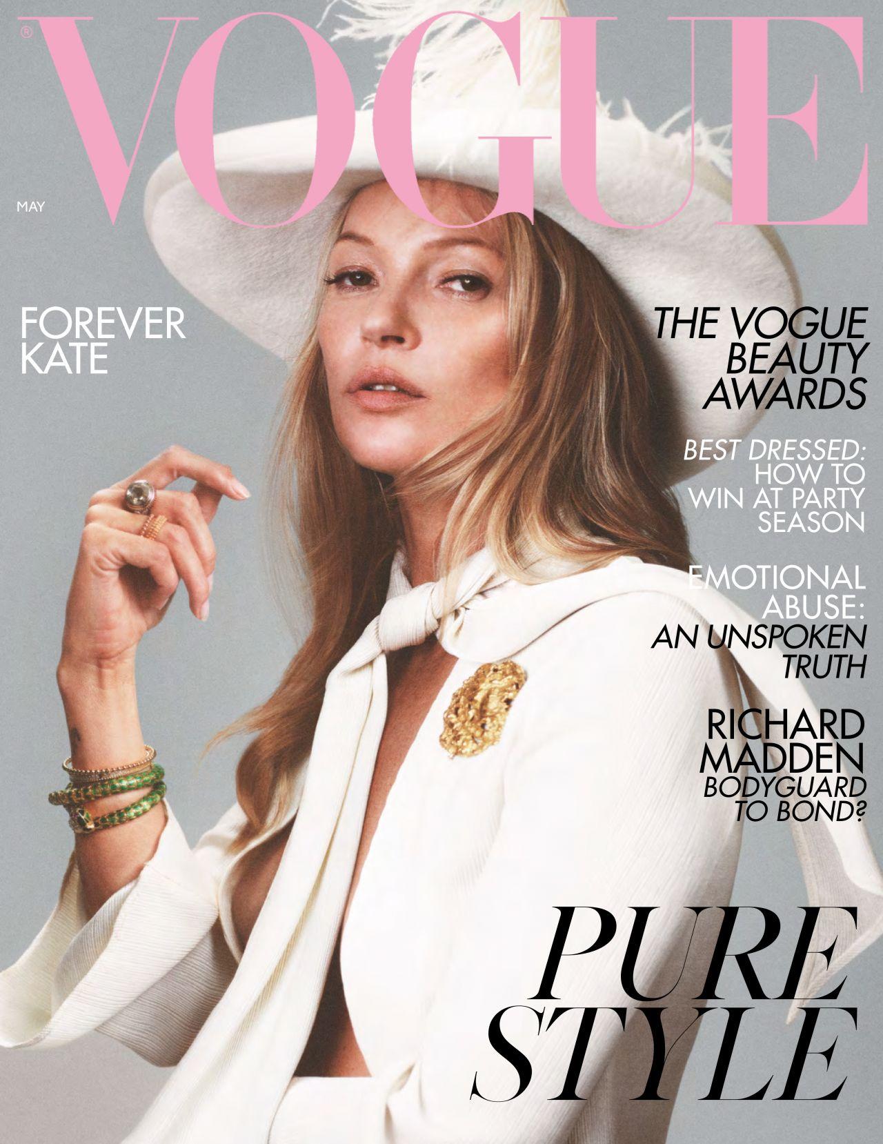 British Vogue Magazine May 2019 Issue