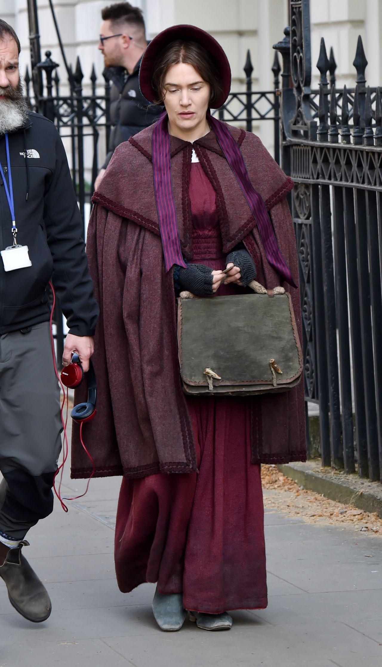 "Kate Winslet - ""Ammonite"" Set in London 04/17/2019"