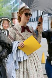 "Kate Winslet and Saoirse Ronan - ""Ammonite"" Set in London 04/17/2019"