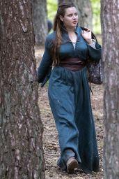 """Katherine Langford - """"Cursed"""" Set in Frensham 04/27/2019"""