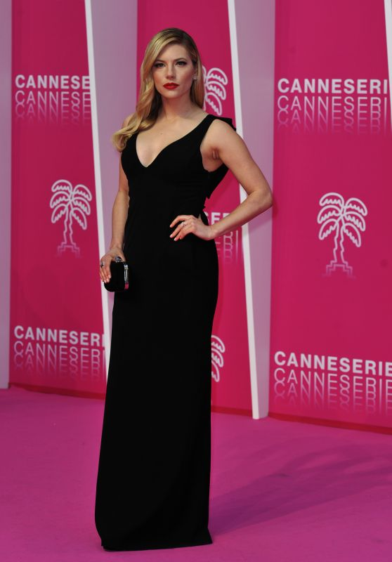 "Katheryn Winnick - ""The Rook"" Premiere at Canneseries International Series Festival"