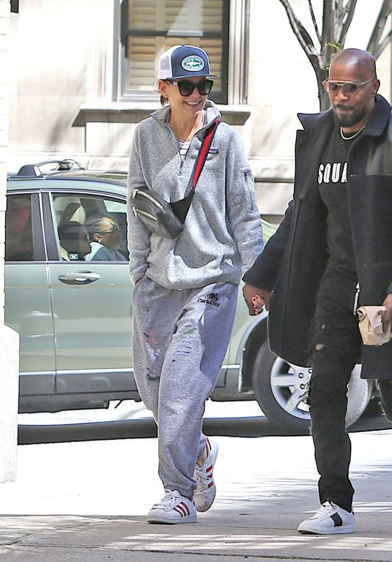 Katie Holmes and Jamie Foxx Holding Hands - NYC 04/16/2019