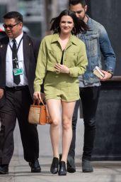 Katie Stevens - Outside Jimmy Kimmel Live in Los Angeles 04/16/2019