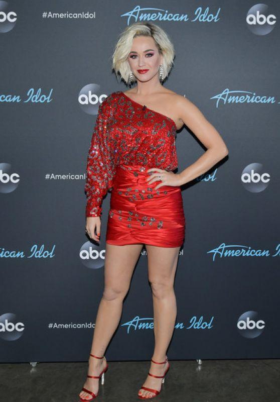"Katy Perry - ""American Idol"" Taping in LA 04/12/2019"