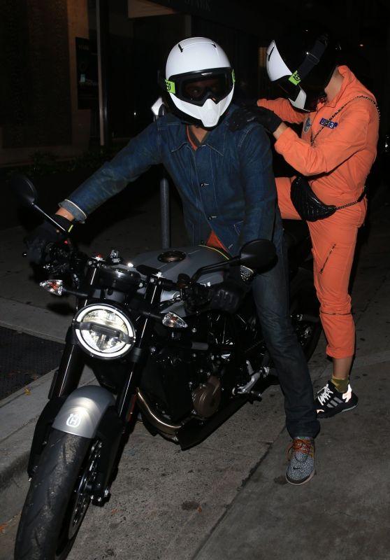 Katy Perry and Orlando Bloom - Leaving Craig