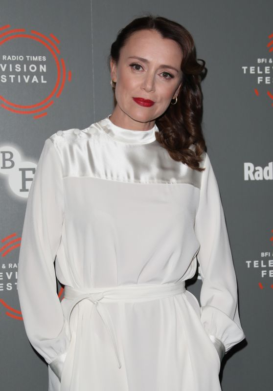 Keeley Hawes - BFI and Radio Times Television Festival - Summer of Rockets in London 04/12/2019