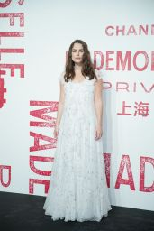 Keira Knightley - Chanel Mademoiselle Prive Exhibition in Shanghai 04/18/2019