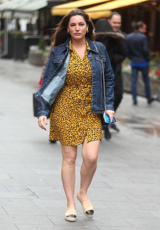 Kelly Brook Casual Style - London 04/02/2019
