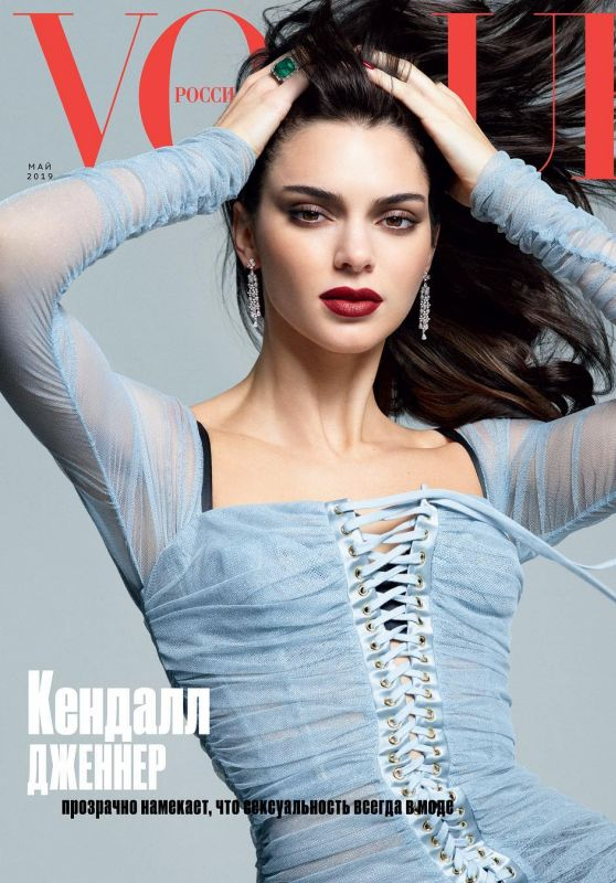 Kendall Jenner - Vogue Magazine Russia May 2019