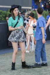 Kerris Dorsey and Dylan Minnette - Coachella in Indio 04/13/2019