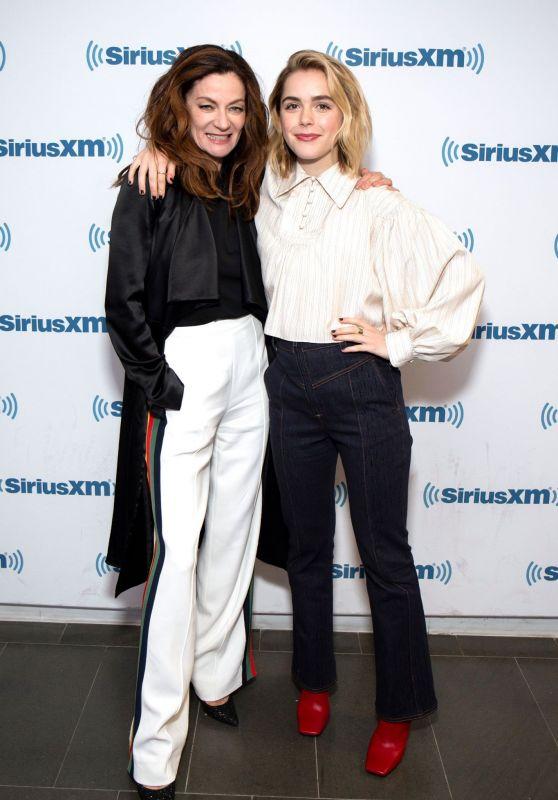 Kiernan Shipka and Michelle Gomez - SiriusXM Studios in NYC 04/02/2019