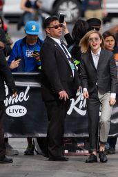 Kiernan Shipka - Outside Jimmy Kimmel Live! in Hollywood 04/11/2019