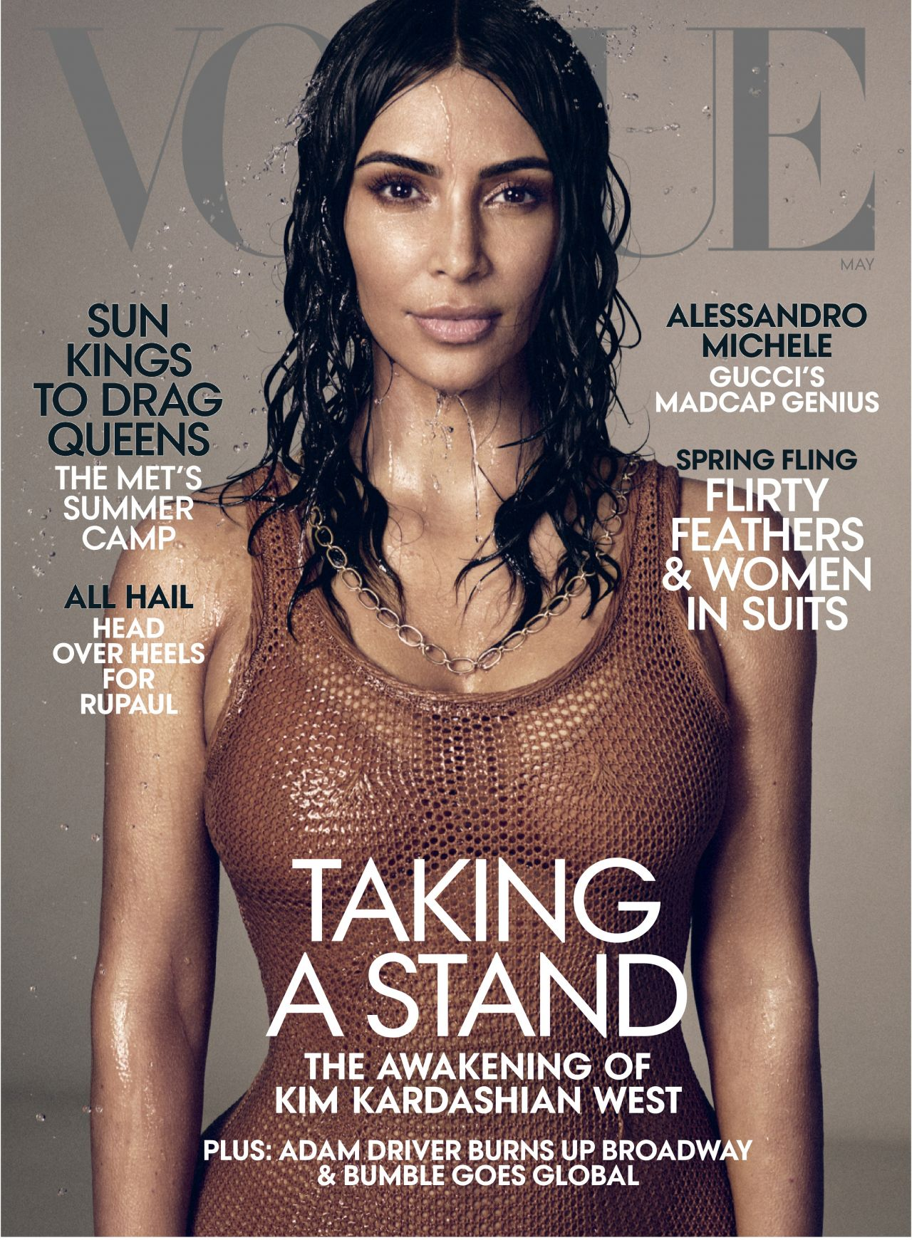 Vogue Magazine Subscription: Vogue Magazine May 2019 Issue