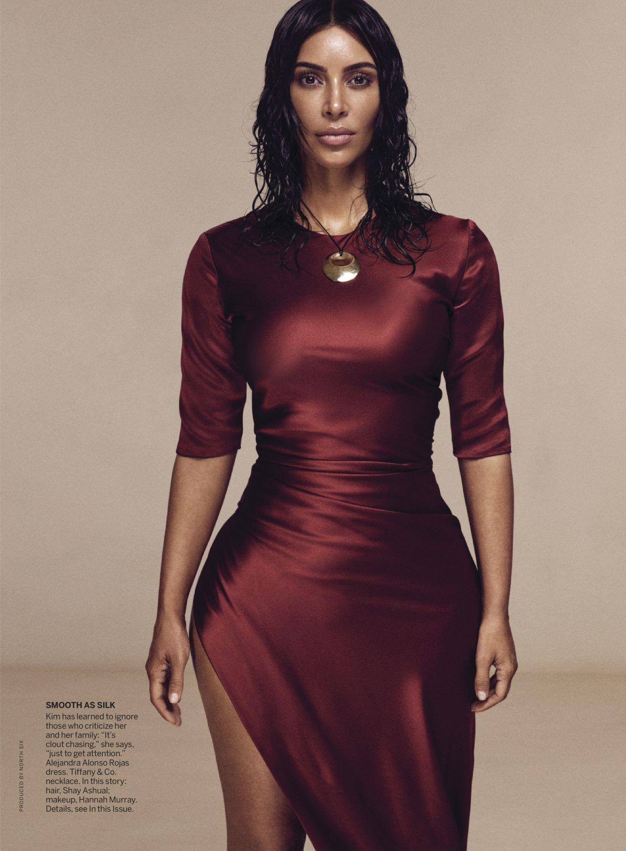 Kim Kardashian  Vogue Magazine May 2019 Issue