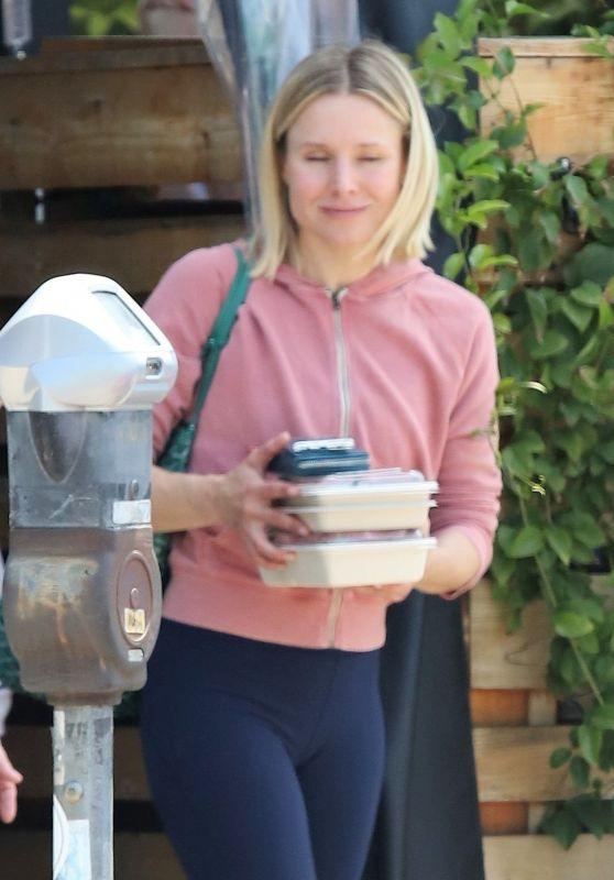 Kristen Bell - Leaves Lunch in LA 04/26/2019
