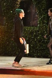 Kristen Stewart and Emma Roberts - Out in LA 04/20/2019