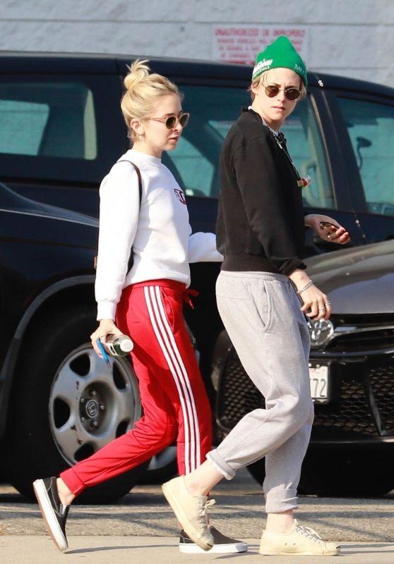 Kristen Stewart and Sara Dinkin - Out in LA 04/20/2019
