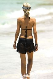 Lady Victoria Hervey in Bikini - Barbados 04/19/2019