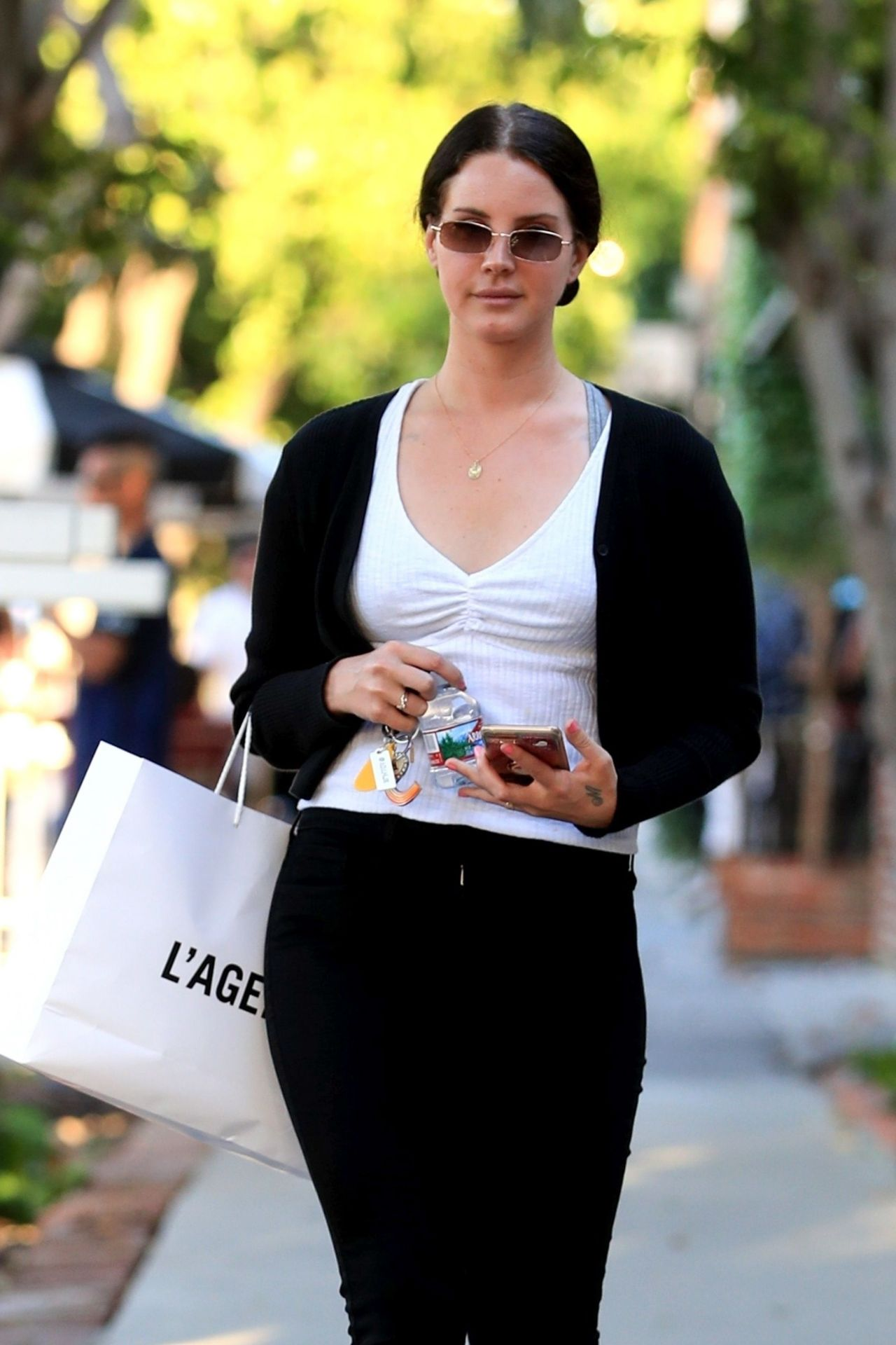 Lana Del Rey Street Style - West Hollywood 04/17/2019