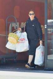 Leah Remini - Picking up Easter Supplies at CVS in LA 04/20/2019