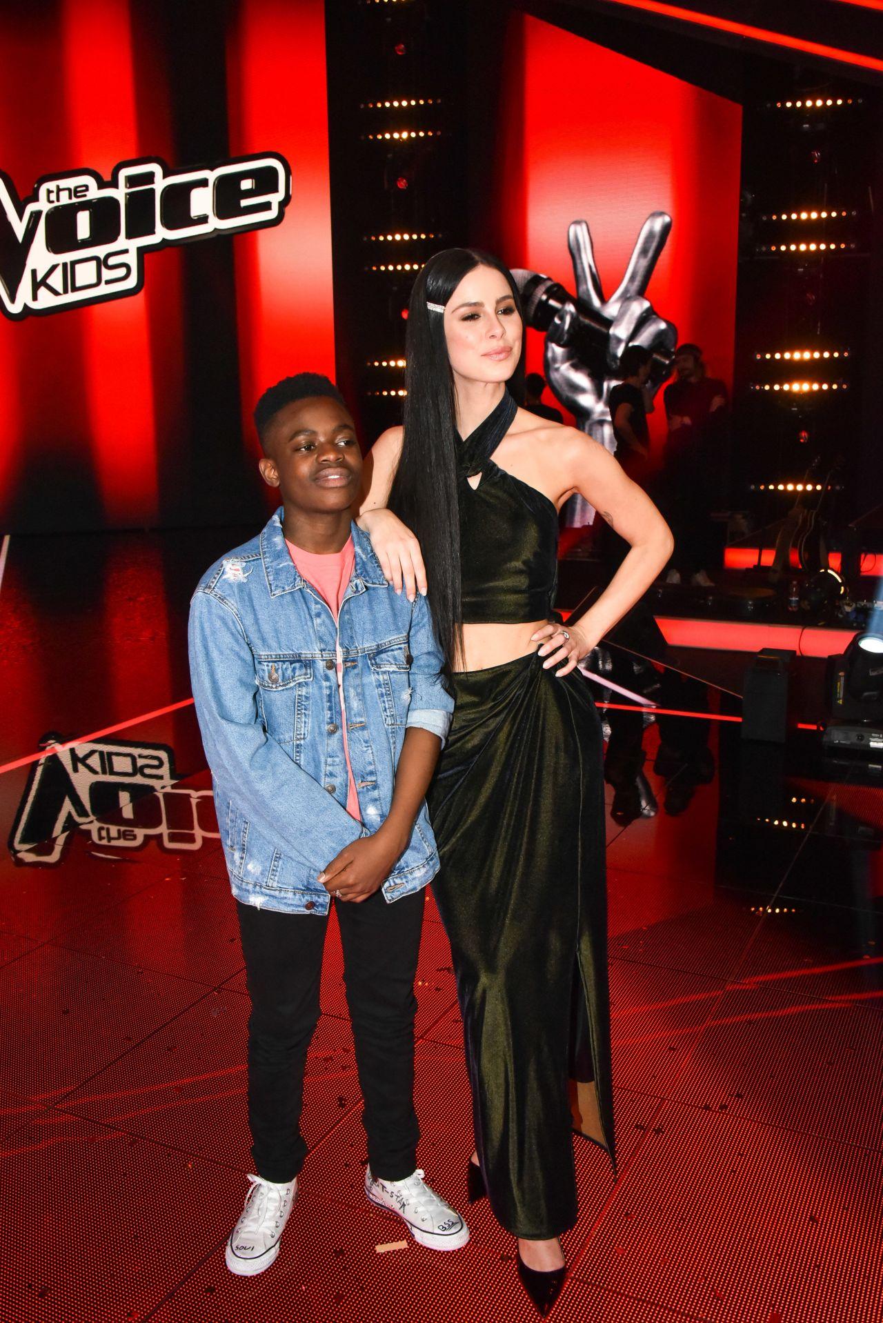 Lena Meyer Landrut Final From The Voice Kids In Berlin 04 21 2019 Celebmafia