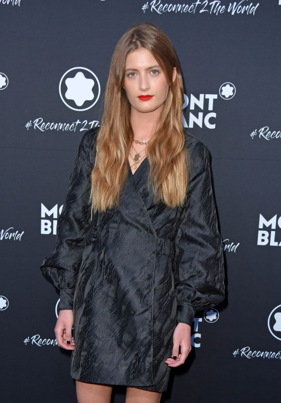 Lilli Schweiger – Montblanc #Reconnect 2 The World Party in Berlin