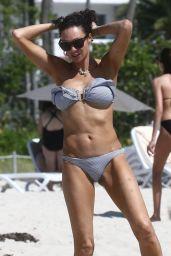 Lilly Becker in Bikini - Miami Beach 04/12/2019
