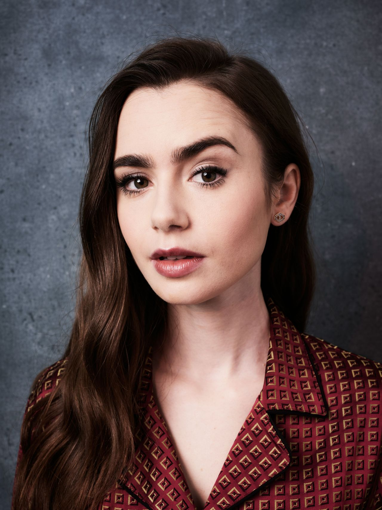 Lily Collins - Deadline Contenders Portraits April 2019