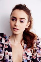"Lily Collins - ""Les Misérables"" Portraits April 2019"