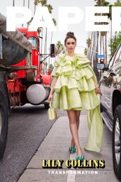 Lily Collins - Paper Magazine April 2019 Cover and Photos